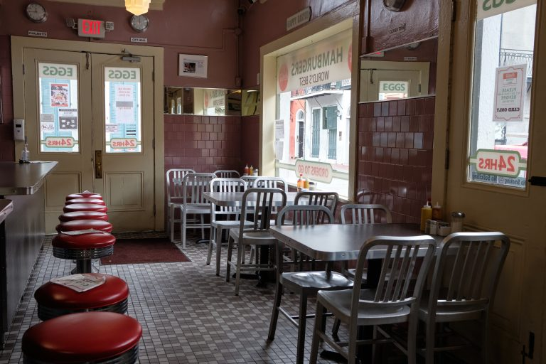Perry Holser - New Orleans, Louisiana - Diner Empty