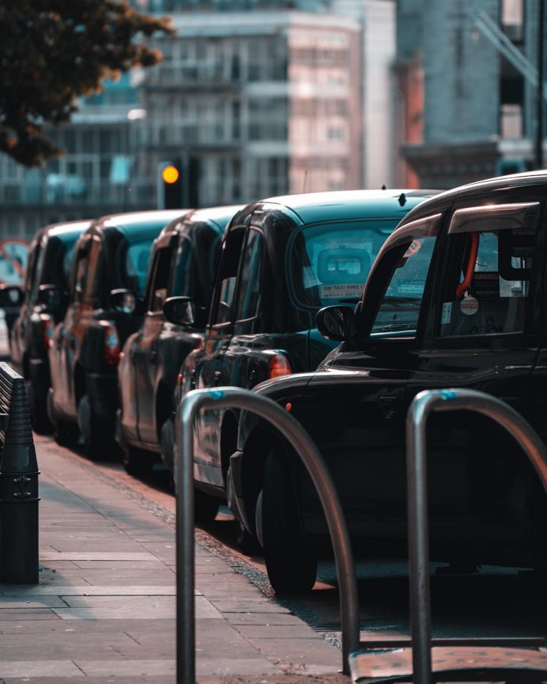 Danielle Liever - Manchester, UK - BlackCab Cabs Hackney Carriage Road Busy Taxi