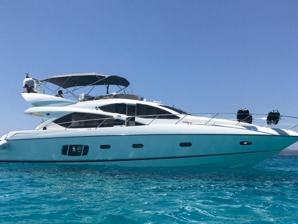 Bluemarine Charter Sunseeker 60 Flybridge