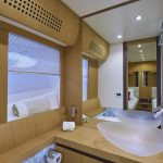 Pershing 90 Blue Marine Charter Bathroom 1