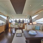 Pershing 90 Blue Marine Charter Salon